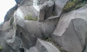Bongkahan batu mayasih yang indah